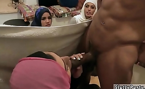 Girls realize wild at party xxx Hot arab dolls try foursome