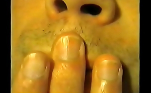 3 - Olivier hand fetish sucking his thumb, seal the doom his fingers together with biting his nails hand worhsip compilation 3 (recorded more 2003)
