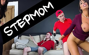 BANGBROS - Sam Bourne's Step Mom Ava Koxxx Takes Control Of The Situation