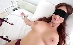 Blindfolded Maw Thinks It's Her Hubby