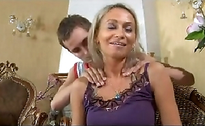 Hot progenitrix n148russian blonde excited mature milf and young man