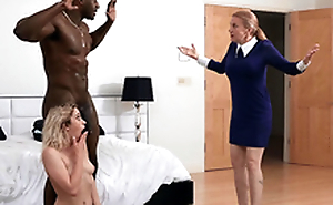 Khloe Capri receives caught with her new stepdad Jax Slayher