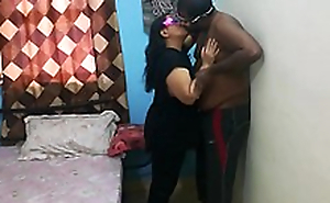Indian bhabhi hard shacking up sex with whilom before lover in absence of say no to husband